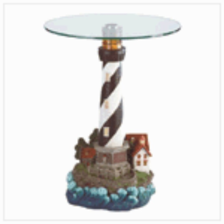 Lighthouse End Table Www Hannahgoldsgiftcollections Com