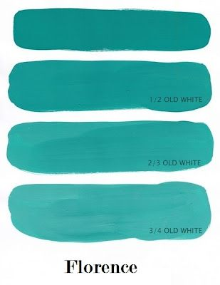 Annie Sloan Chalk Paint Colour: Florence    Love this color- I can't make up my…