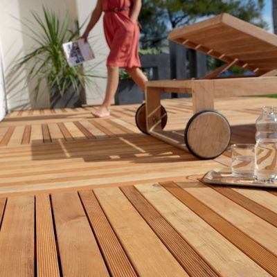 ber ideen zu dalle de terrasse auf pinterest garten landschaftsdesign terrasse und. Black Bedroom Furniture Sets. Home Design Ideas