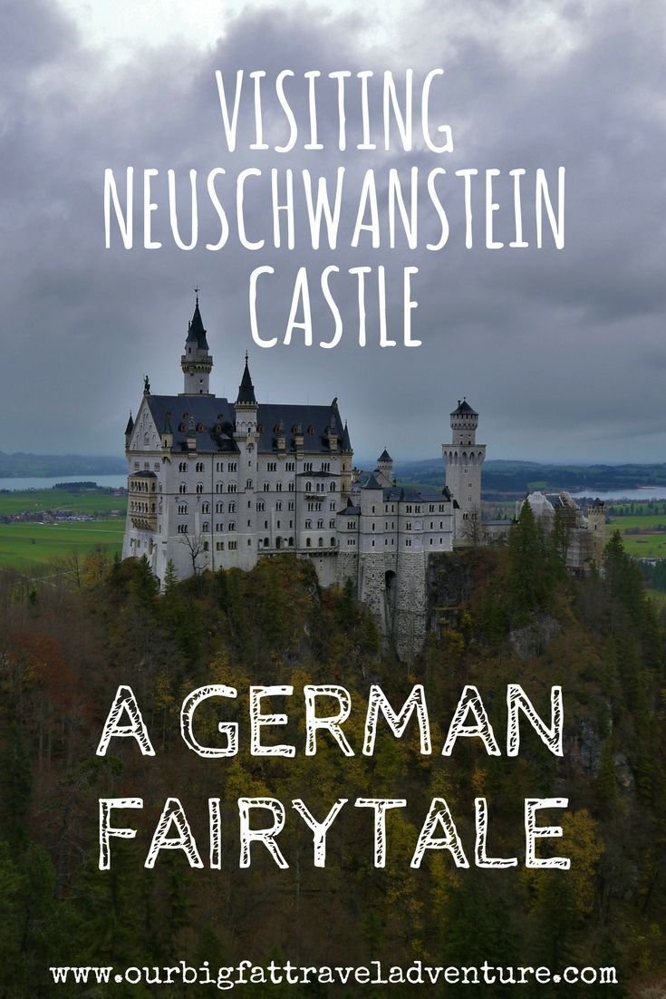 Top tips including ticket info on visiting Neuschwanstein Castle in Germany built by King Ludwig and the inspiration for the iconic Disney castle. Visiting Neuschwanstein Castle | Neuschwanstein Castle | German Castles | Fairytale castles | Disney Castle
