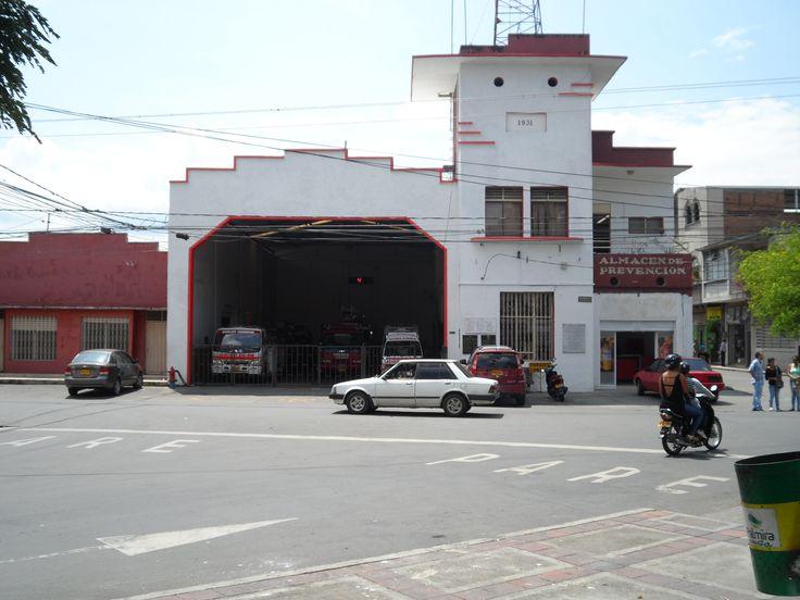 Estación de bomberos de Palmira, Valle, Colombia.