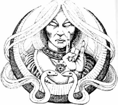 """Satanic Witch: Satanism can refer to a number of belief systems, from the worship of the Christian Devil, to occult/ritual magic and the """"Left Hand Path"""" or the modern Satanism belief system of Anton LaVey. It is often associated in the public mind with demonology (the systematic study of, or belief in, demons and other malevolent beings), with black magic (a form of sorcery that draws on malevolent powers, or used for dark purposes or malevolent acts that"""