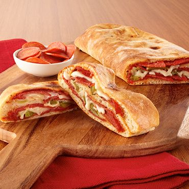 Easy Stromboli Must say, Publix's bakery department makes a fresh pizza dough that is