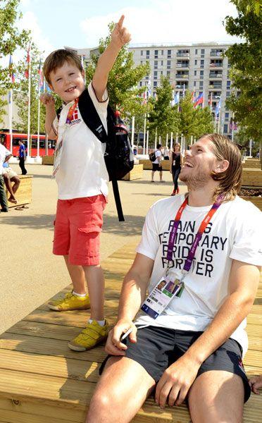Prince Christian of Denmark does his best 'Usain Bolt': Lighten Posts, Prince Christian, Imitation Usain, King Prince, Denmark Imitation, Bolt Famous, Danishes Christian, London Olympics, Usain Bolt