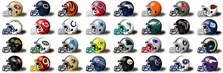 Find The Nfl Helmets Quiz By Mhershfield