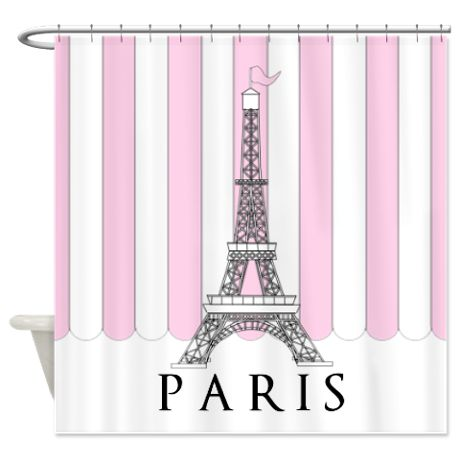 17 Best Images About Eiffel Tower Shower Curtain On Pinterest Black Shower Curtains Floral