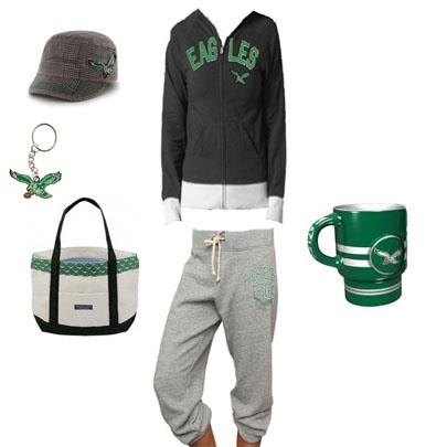 Philadelphia Eagles outfit perfect for fall