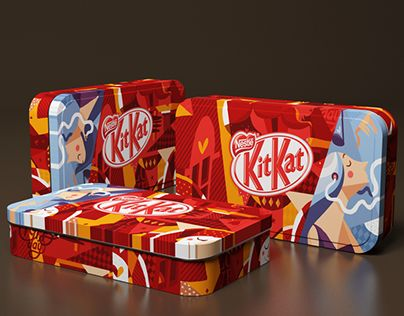 Special Edition Packaging Nestle Kit Kat Music And Love Have A Break Have A Kit Kat A Package For Two Kit Kat Kit Nestle