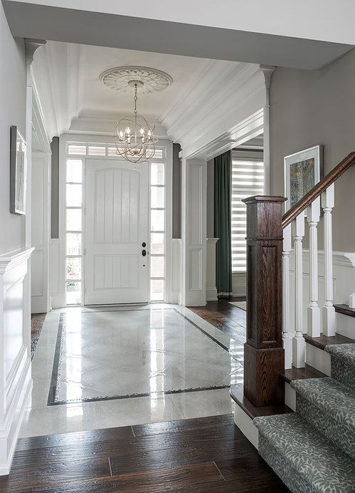Elegant Foyer Tiles : Best ideas about front entrances on pinterest
