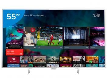 """Smart TV LED 55"""" Philips 4K/Ultra HD Conversor Digital Wi-Fi 4 HDMI 3 USB DTVi com as melhores condições você encontra no Magazine Shopspremium. Confira!"""