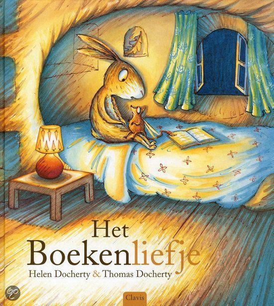 Het boekenliefje Een knap bedtijd- en voorleesverhaal voor kleuters. Vanaf ca. 4 jaar.