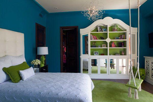 Mediterranean Bedroom with White Bedroom Sets