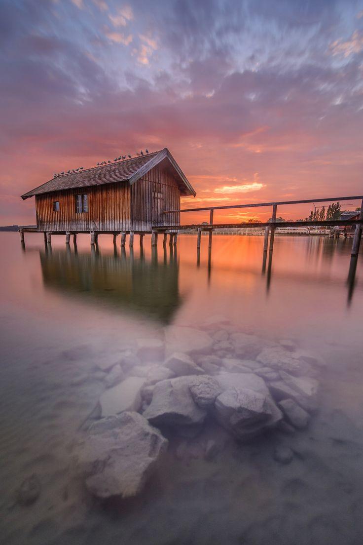 Burning sky by Simon  Vilgertshofer on 500px