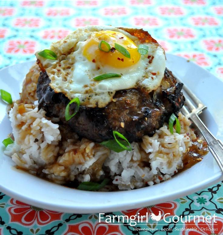 Teriyaki Loco-Moco - from @Heather Scholten [Farmgirl Gourmet]