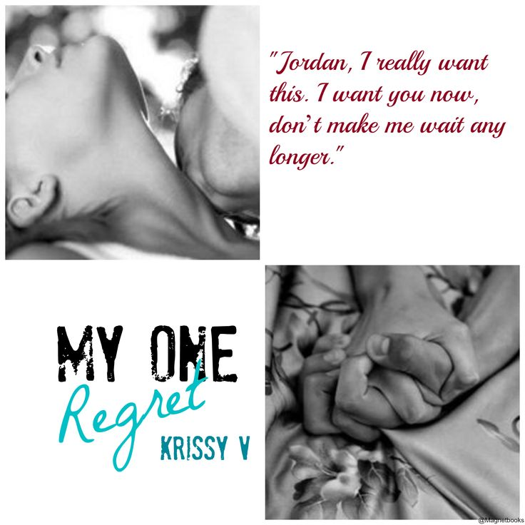 ★.¸¸,. •°´★TEASER TUESDAY★.¸¸,. •°´★  My One Regret by Krissy V  #TeaserTime #SoulMates #Regrets #Jordan #TrueLove #ComingSoon #PreOder #OneClick  Jordan & Cassie, a forever kind of love  Amazon http://amzn.to/1Jd56Rq Goodreads: https://www.goodreads.com/book/show/25796094-my-one-regret
