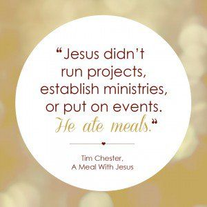 WHY WE DO SMALL GROUPS WITH STUDENT MINISTRY hospitable heart - quote 3 by Tim Chester {Hive Resources}