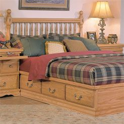 Quality Benchmade Oak Bedroom Furniture For Your Bedroom Like This Deluxe  Spindle Headboard. All Bedroom Deluxe Spindle Headboards Are Made In  America And ...