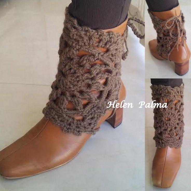 polaina crochet encomendas hcpalma@gmail.com