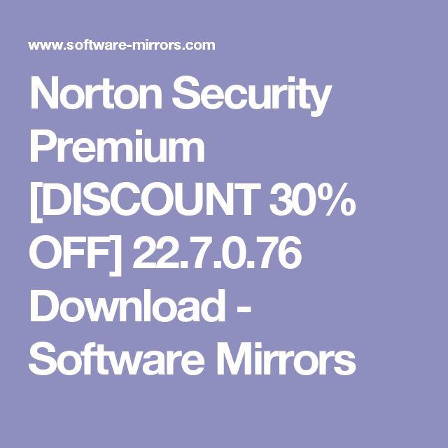 Norton Security Premium [DISCOUNT 30% OFF] 22.7.0.76 Download - Software Mirrors