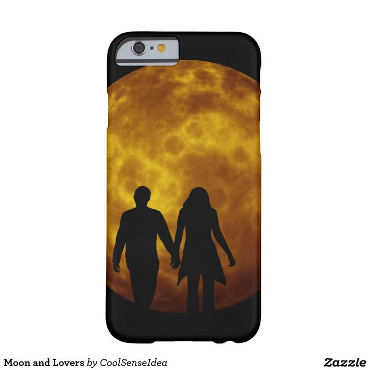 Moon and Lovers Barely There iPhone 6 Case