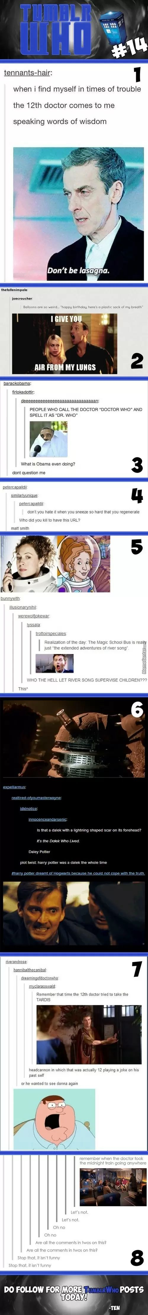 Tumblr Who #14 Remember when the doctor took the midnight train going anywhere lol