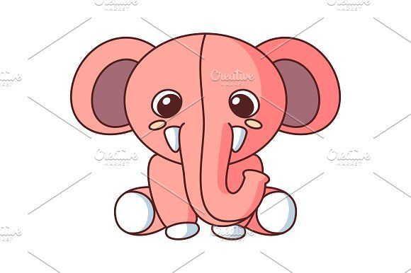Elephant Doll Cartoon Vector Graphics Elephant Doll Cartoon Vector ( Formats included EPS, High Resolution JPEG)Please contact me if you by Heriyusuf