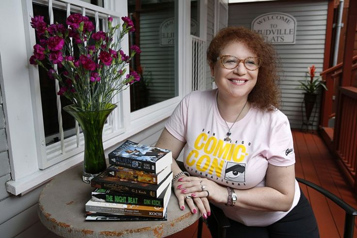 """Pictured: Prolific Valley author Gini Koch 
