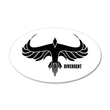 wall decal tattoo art tattoo ideas divergent forward divergent ...  Factionless Divergent Symbol