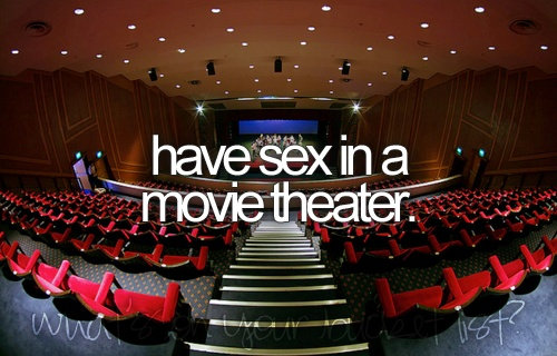 How to have sex in a movie theater foto 64