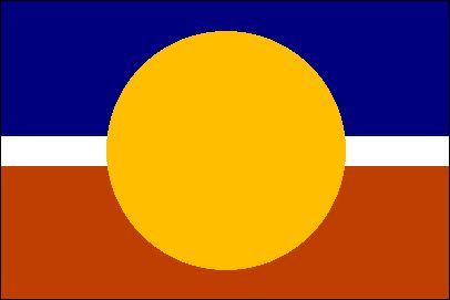 Australian flag Proposal _ Tony Burton Flag (1993)