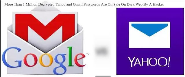 More Than 1 Million Decrypted Yahoo and Gmail Passwords Are On Sale On Dark Web By A Hacker http://www.2020techblog.com/2017/03/more-than-1-million-decrypted-yahoo-and.html  #technews