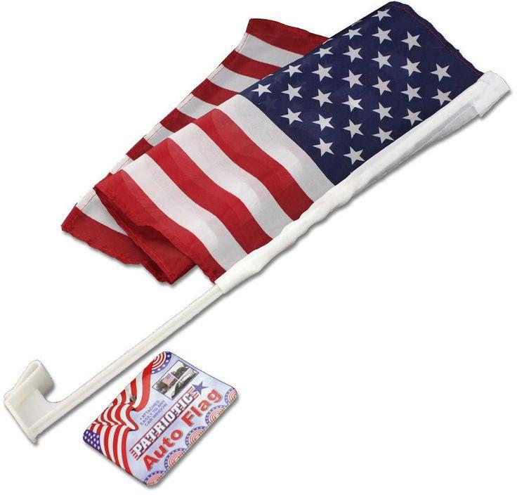 Patriotic Auto Flag - 24 Units