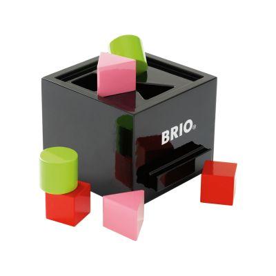 BRIO Putteboks sort træ - Legetøj fra Babysam.dk