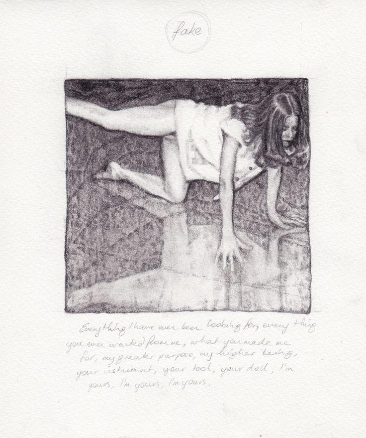 Becc Orszag, pencil on paper 2013