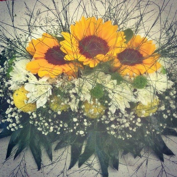 #centrotavola #fiori #flower #flowerlover #girasole #sunflower #summer #casanaturavivaio