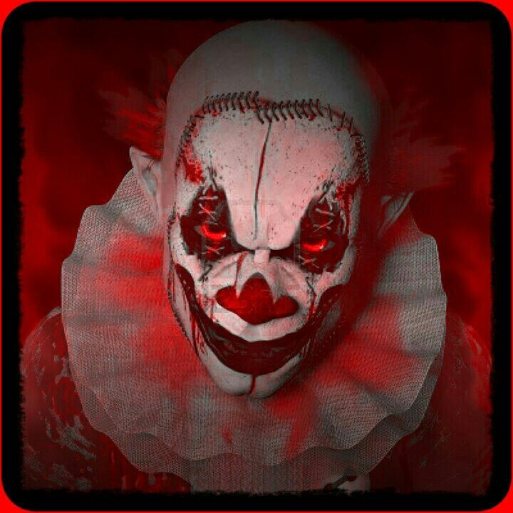 Red evil cliwn