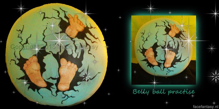 Bellypaint Bellypainting Buikschildering  je hebt mogelijk niet altijd een zwanger model in de buurt om op te werken. Er zijn gelukkig een aantal alternatieven waaronder bijvoorbeeld een zwangeren paspop of bellybal. Zo kan je ten alle tijde leuke bellypaint designs oefenen.  Face Fantasy schminken Amersfoort  www.facefantasy.nl  Painted by me, design not originally by me.