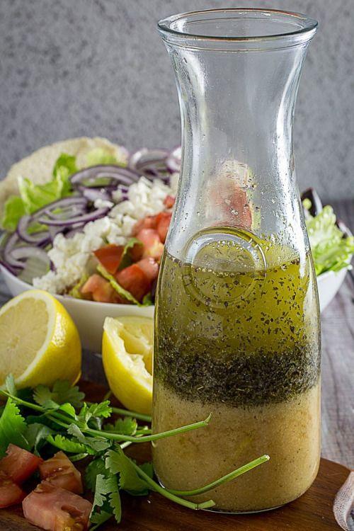 Best Greek Salad Dressing & Greek Salad is a the perfect  Mein Blog: Alles rund um die Themen Genuss & Geschmack  Kochen Backen Braten Vorspeisen Hauptgerichte und Desserts