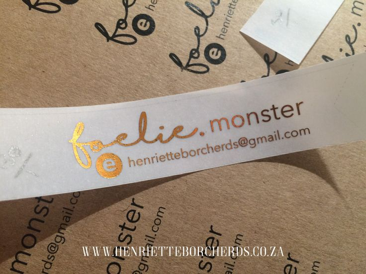 Copper foil sample. @h_borcherds. Business Stationery. Wedding stationery.