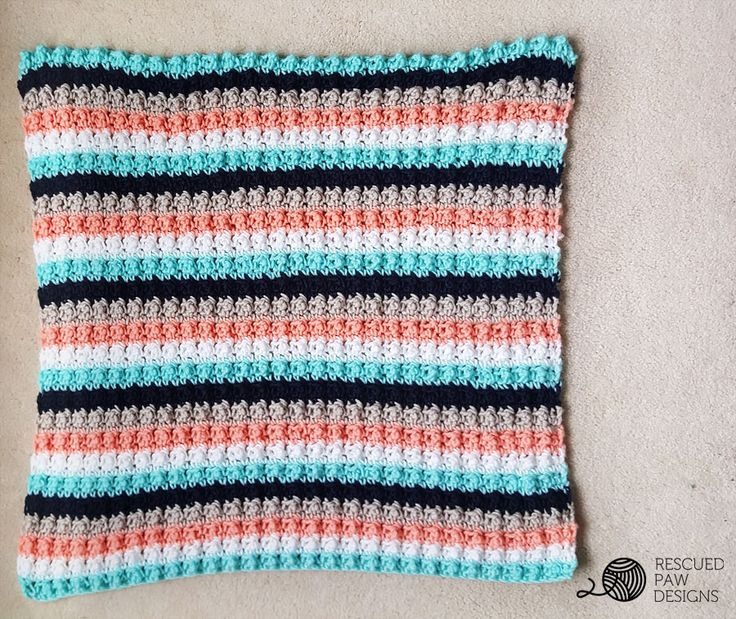 532 best crochet patterns to try someday images on pinterest ever so striped crochet baby blanket rescued paw designs fandeluxe Images