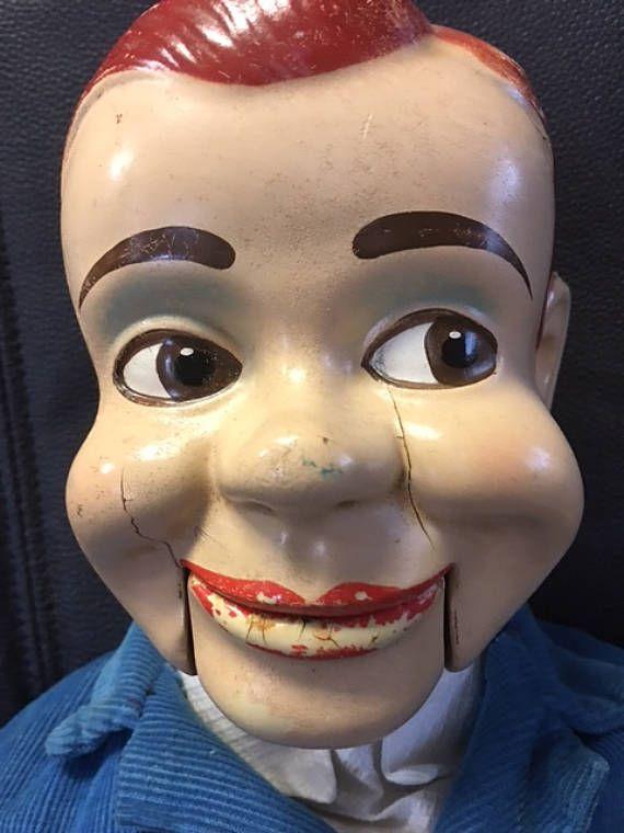 Poupée de ventriloque Charlie McCarthy Vintage 1950