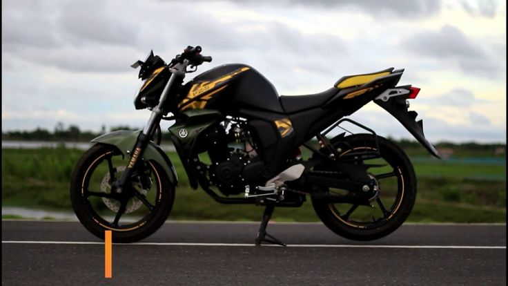 Yamaha FZS Fi V2.0 top speed , all new matte addition ...