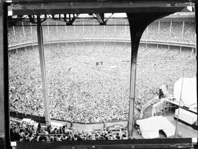 Do you remember this?! Rolling Stones at World Series of Rock at Cleveland Municipal Staudium!  Look at our love for music!!!