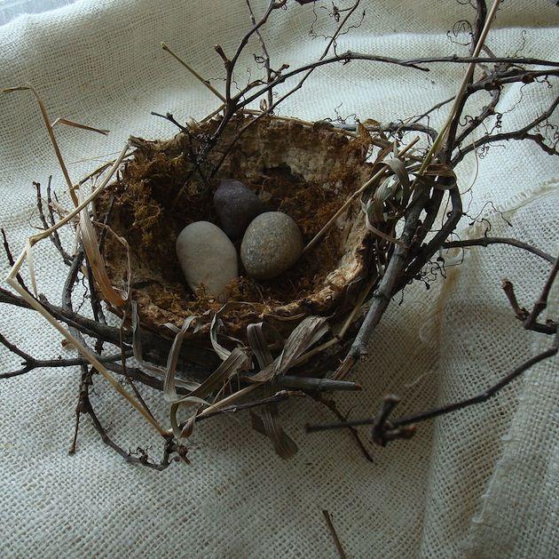 WABI SABI Scandinavia - Design, Art and DIY.: DIY: Natural Easter Decoration