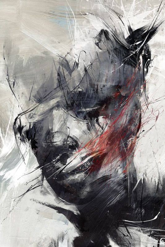 You might have already heard of Russ Mills. If not, let us tell you who this incredible artist is. Between urban fine art and contemporary graphics, Russ creates collisions of real and digital media with a firm foundation in drawing. He mainly focuses on the human form, particularly the face, interweaving elements from the animal kingdom often reflecting the absurdity of human nature.