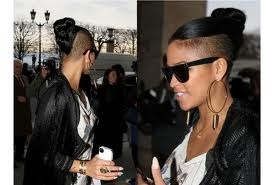 Cassie shaved side hair up! SUPER CUTE! LOVE!!!!