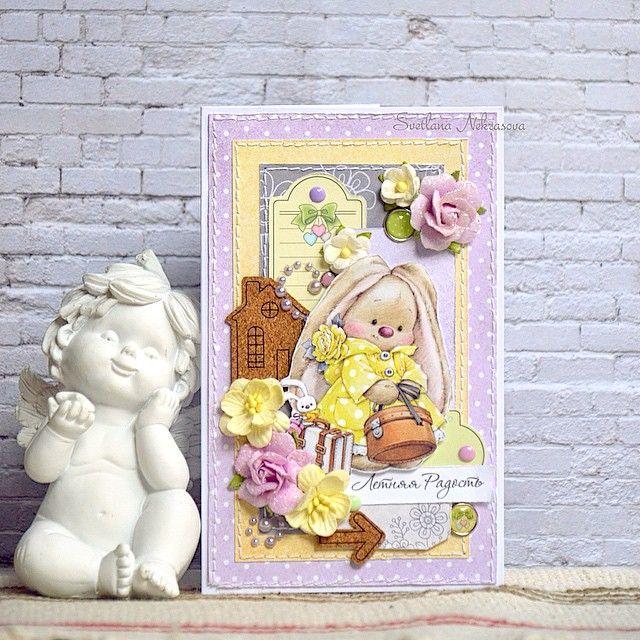 Открытка с днем рождения с зайкой ми, восьмому марту открытки
