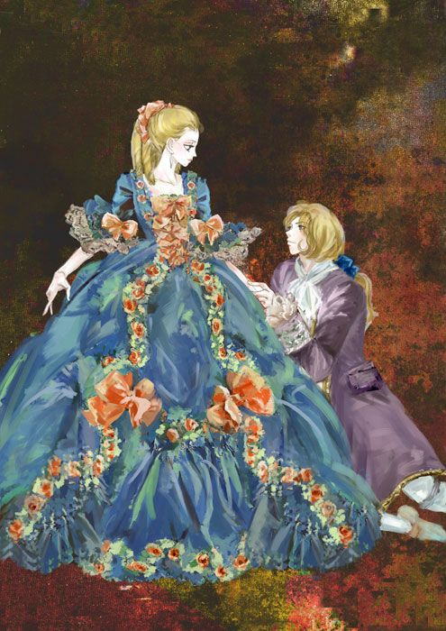 vivelareine:    Rose of Versailles fanart