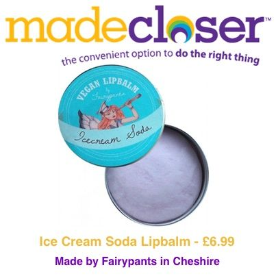 Product of the Week: Ice Cream Soda Lipbalm made by Fairypants in Cheshire