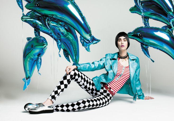 Diciembre 2013, Moda globos.